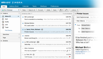 zimbra-screenshot-messaging